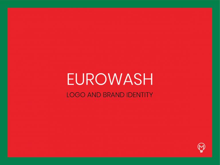 Eurowash logo identity-01