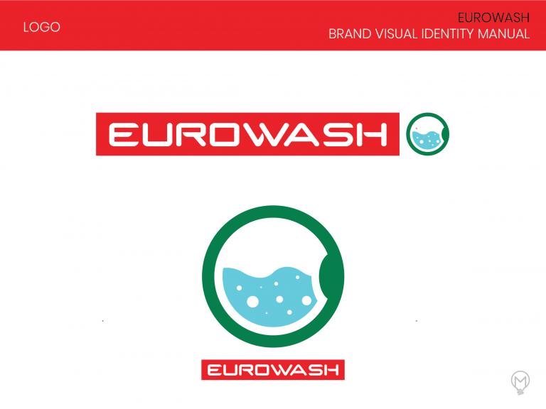 Eurowash logo identity-02